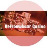 Betrouwbaar casino button